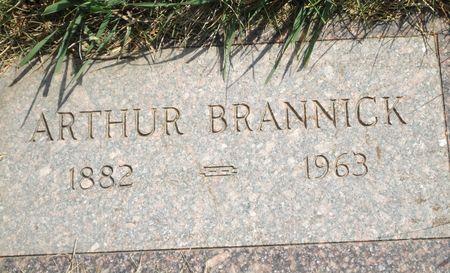 BRANNICK, ARTHUR - Clay County, Iowa   ARTHUR BRANNICK