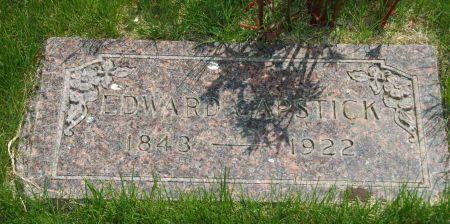 CAPSTICK, EDWARD - Clay County, Iowa   EDWARD CAPSTICK