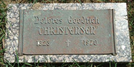 GOODRICH CHRISTENSEN, DOLORES - Clay County, Iowa   DOLORES GOODRICH CHRISTENSEN