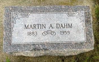 DAHM, MARTIN A. - Clay County, Iowa | MARTIN A. DAHM