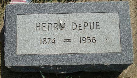 DEPUE, HENRY - Clay County, Iowa   HENRY DEPUE