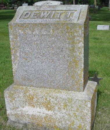 DEWITT, WILLARD W. - Clay County, Iowa   WILLARD W. DEWITT