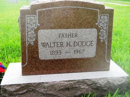 DODGE, WALTER H. - Clay County, Iowa | WALTER H. DODGE