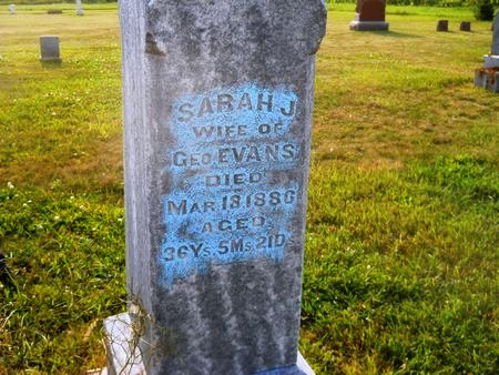 EVANS, SARAH J. - Clay County, Iowa | SARAH J. EVANS