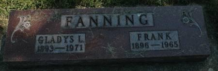 FANNING, GLADYS L. - Clay County, Iowa | GLADYS L. FANNING