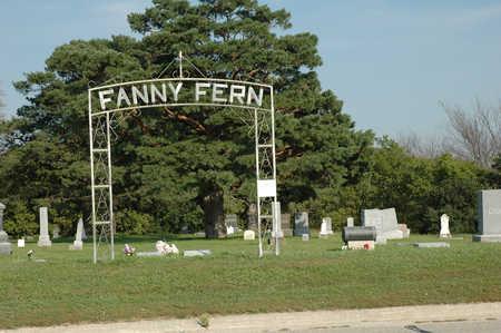 FANNY FERN, CEMETERY - Clay County, Iowa | CEMETERY FANNY FERN