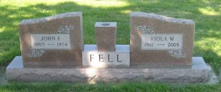 FELL, JOHN F. - Clay County, Iowa | JOHN F. FELL