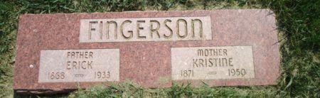 FINGERSON, KRISTINE - Clay County, Iowa   KRISTINE FINGERSON