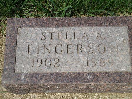 FINGERSON, STELLA A. - Clay County, Iowa | STELLA A. FINGERSON