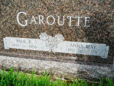 GAROUTTE, ANNA MAY - Clay County, Iowa | ANNA MAY GAROUTTE