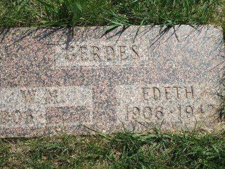 GERDES, EDETH - Clay County, Iowa | EDETH GERDES