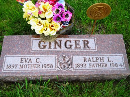 GINGER, EVA C. - Clay County, Iowa | EVA C. GINGER