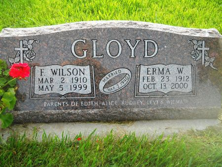 GLOYD, F. WILSON - Clay County, Iowa   F. WILSON GLOYD
