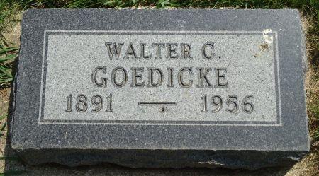 GOEDICKE, WALTER C. - Clay County, Iowa   WALTER C. GOEDICKE