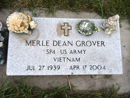 GROVER, MERLE DEAN - Clay County, Iowa | MERLE DEAN GROVER