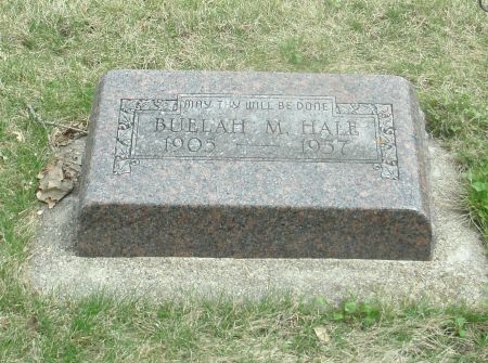 HALE, BUELAH MAE - Clay County, Iowa | BUELAH MAE HALE