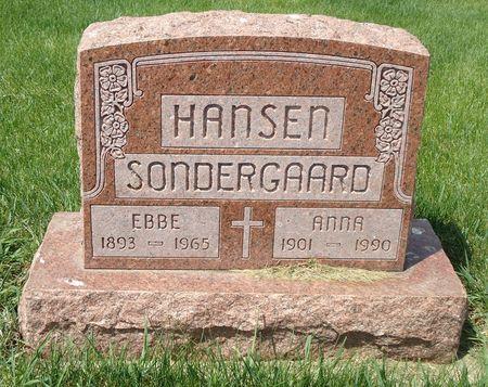 HANSEN, ANNA - Clay County, Iowa   ANNA HANSEN