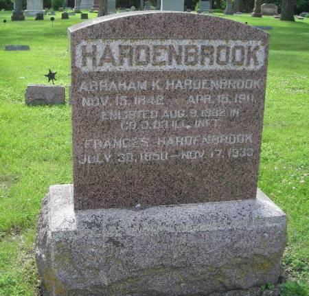 HARDENBROOK, ABRAHAM K - Clay County, Iowa | ABRAHAM K HARDENBROOK