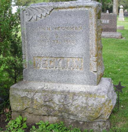 HECKMAN, JOHN H. - Clay County, Iowa | JOHN H. HECKMAN