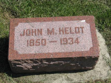 HELDT, JOHN M. - Clay County, Iowa | JOHN M. HELDT