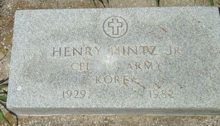 HINTZ, HENRY - Clay County, Iowa   HENRY HINTZ