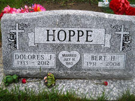 HOPPE, DOLORES J. - Clay County, Iowa   DOLORES J. HOPPE