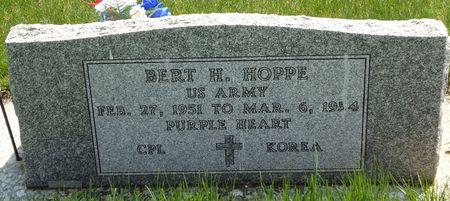 HOPPE, BERT H. - Clay County, Iowa | BERT H. HOPPE