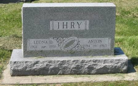 IHRY, LEONA D. - Clay County, Iowa | LEONA D. IHRY