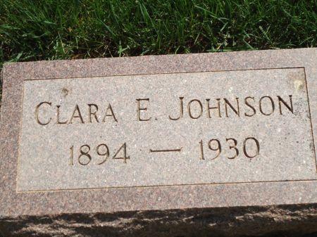 JOHNSON, CLARA E. - Clay County, Iowa | CLARA E. JOHNSON