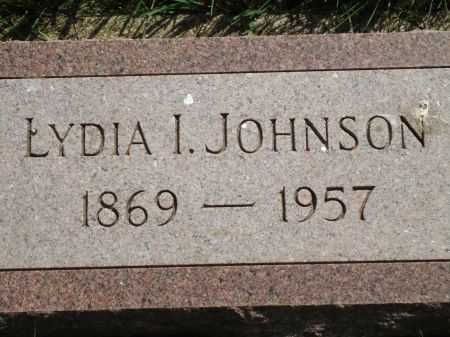 JOHNSON, LYDIA I. - Clay County, Iowa | LYDIA I. JOHNSON