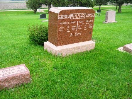 JONES, FAMILY MONUMENT - Clay County, Iowa | FAMILY MONUMENT JONES