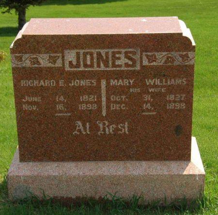 JONES, RICHARD E. - Clay County, Iowa | RICHARD E. JONES