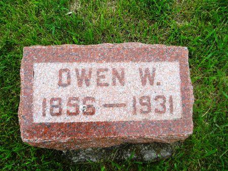 JONES, OWEN W. - Clay County, Iowa | OWEN W. JONES