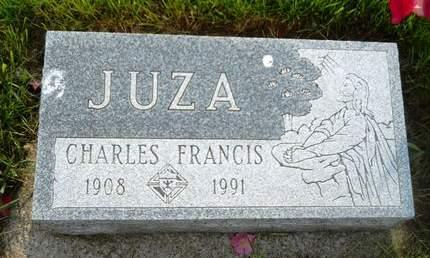 JUZA, CHARLES FRANCIS - Clay County, Iowa   CHARLES FRANCIS JUZA
