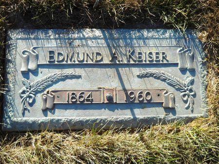 KEISER, EDMUND A. - Clay County, Iowa | EDMUND A. KEISER