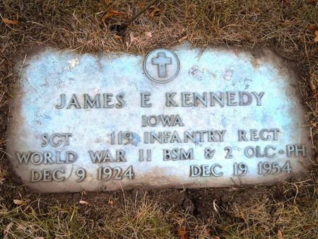 KENNEDY, JAMES E - Clay County, Iowa | JAMES E KENNEDY
