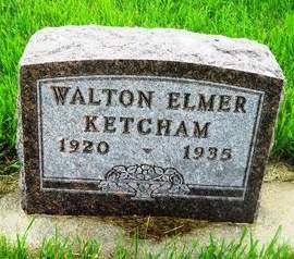 KETCHAM, WALTON ELMER - Clay County, Iowa | WALTON ELMER KETCHAM
