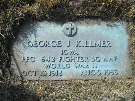 KILLMER, GEORGE J - Clay County, Iowa | GEORGE J KILLMER