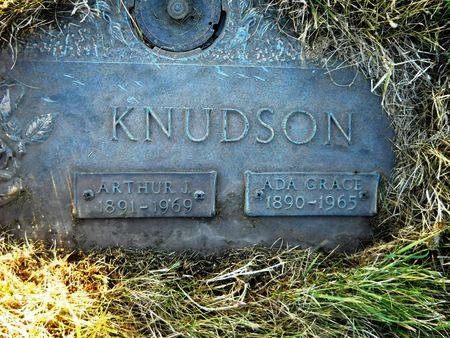 KNUDSON, ARTHUR J. - Clay County, Iowa   ARTHUR J. KNUDSON