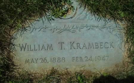KRAMBECK, WILLIAM T. - Clay County, Iowa | WILLIAM T. KRAMBECK
