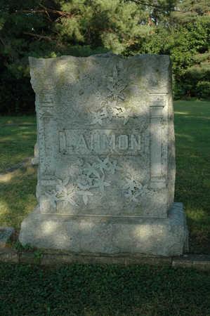 LAHMON, FAMILY MONUMENT - Clay County, Iowa | FAMILY MONUMENT LAHMON
