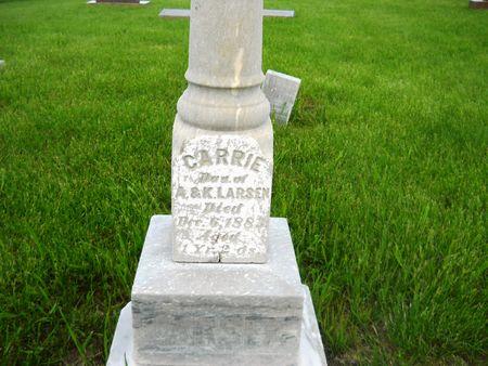 LARSEN, CARRIE - Clay County, Iowa | CARRIE LARSEN