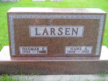 LARSEN, HANS A. - Clay County, Iowa   HANS A. LARSEN