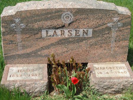 LARSEN, HANS - Clay County, Iowa   HANS LARSEN