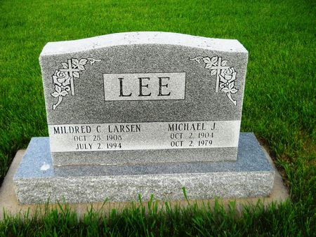 LEE, MICHAEL J. - Clay County, Iowa | MICHAEL J. LEE