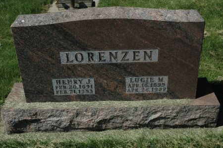 LORENZEN, HENRY J. - Clay County, Iowa   HENRY J. LORENZEN