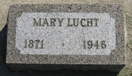 LUCHT, MARY - Clay County, Iowa | MARY LUCHT
