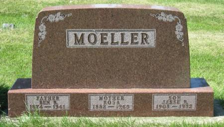 MOELLER, BEN B. - Clay County, Iowa   BEN B. MOELLER