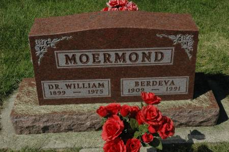 MOERMOND, BERDEVA - Clay County, Iowa   BERDEVA MOERMOND