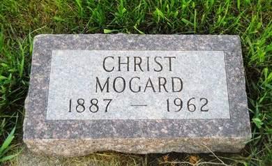 MOGARD, CHRIST - Clay County, Iowa   CHRIST MOGARD